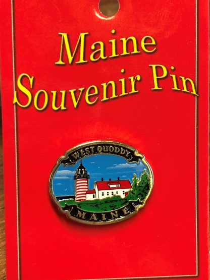 West Quoddy Souvenir Pin