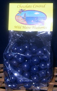 Chocolate Covered Wild Maine Blueberries