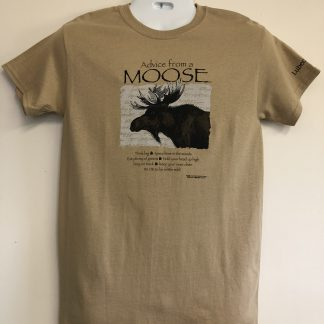 Advice from A Moose Short Sleeve Tee