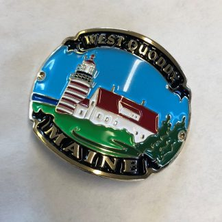 West Quoddy Hiking Stick Medallion