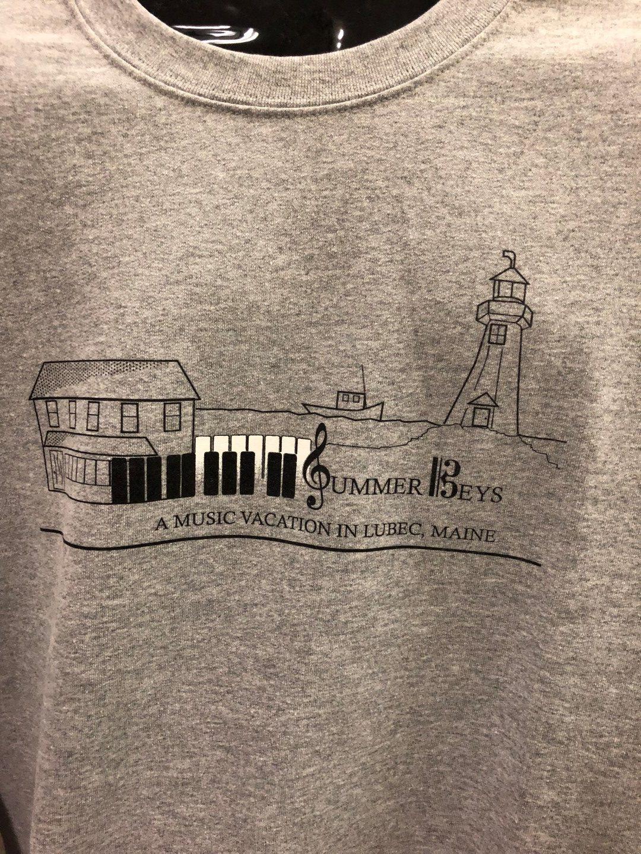 cb1a7c06b74c Summer Keys Crewneck Sweatshirt – West Quoddy Gifts